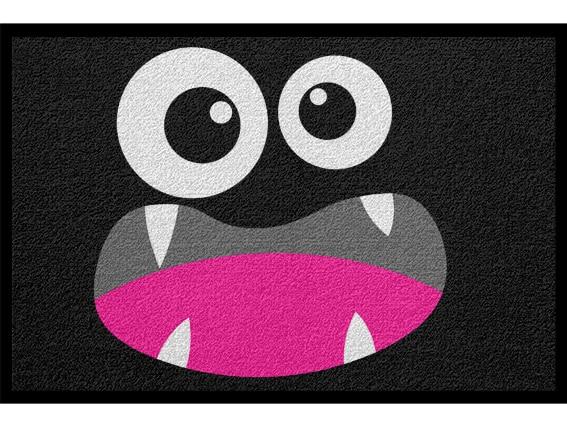 Fußmatte Halloween Monster Witzig