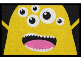 Fußmatte Halloween Monster Lustig