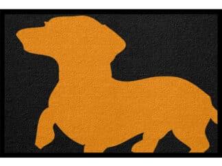 Fußmatte Tier Dackel Hund