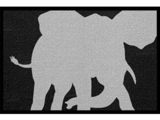 Fußmatte Tier Elefant