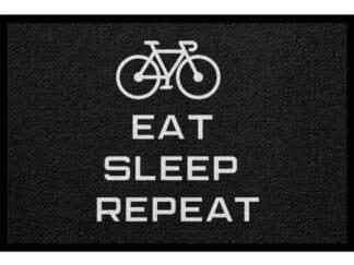 Fußmatte Fahrrad Sport