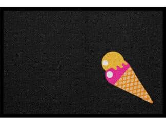 Fußmatte Sommer Eis Ferien