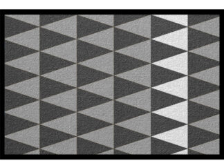 Fussmatte Muster nordic schweden grau pattern